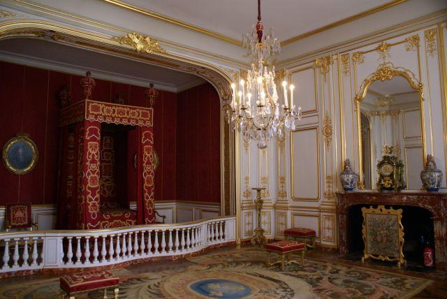 Das Schlafzimmer von König Ludwig XIV.
