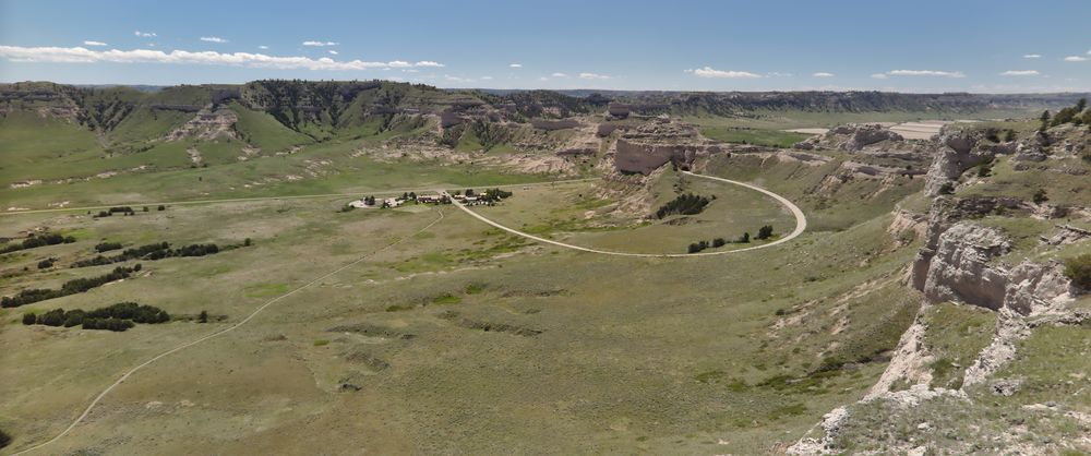 Scottsbluff (Scotts Bluff NM, Chimney Rock NHS, Agate Fossil Beds NM)